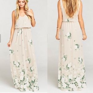 Show me your mumu Bouquet Toss Kendall maxi